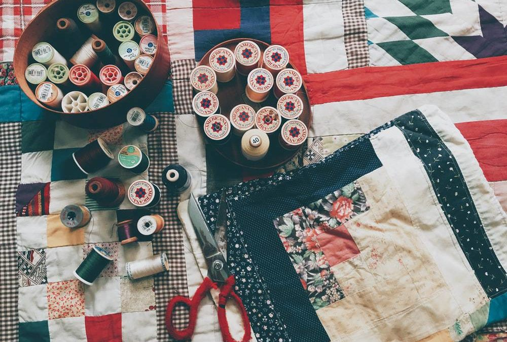 Making a memory quilt